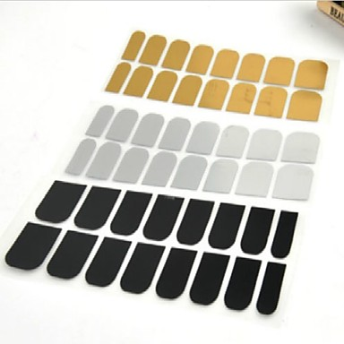 48 3D Nail Stickers Abstract Fashion Punk Daily High Quality