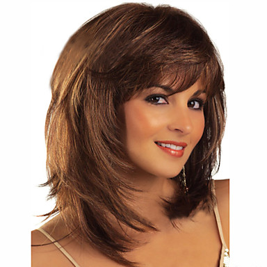 European and American Ppopular High Quality Fashion Color Hair Wig Natural Wave Wig