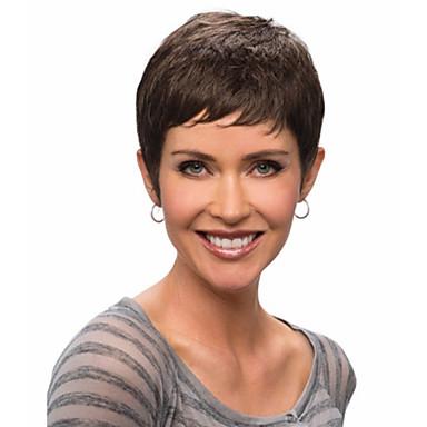 Парики из искусственных волос Кудрявый Без шапочки-основы Искусственные волосы