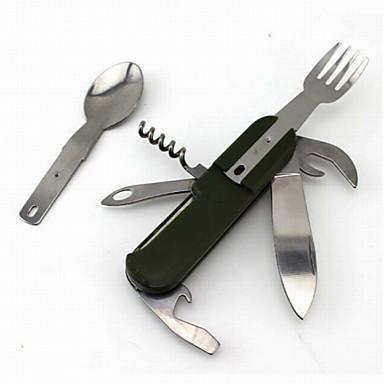 Flaskeåpnere / Kniver / Multi Verktøy Multifunksjon, Praktiskt til Camping / Utendørs / Reise - Rustfritt Stål / ABS