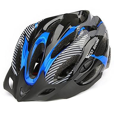 Bike Helmet 19 Αεραγωγοί Ποδηλασία Ρυθμιζόμενο Βουνό Σκίαση Πολύ Ελαφρύ (UL) Αθλητικά EPS+EPU Ποδηλασία Δρόμου Ποδηλασία Αναψυχής