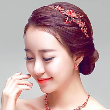 Γυναικείο Στρας Κράμα Headpiece-Γάμος Ειδική Περίσταση Υπαίθριο Κεφαλόδεσμοι 1 Τεμάχιο