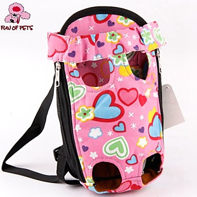 Cat Dog Carrier & Travel Backpack Front Backpack Pet Baskets Cute Pink For Pets