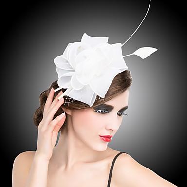 abordables Coiffes-Cristal / Tissu / Organza Kentucky Derby Hat / Diadèmes / Fascinators avec 1 Mariage / Occasion spéciale / Fête / Soirée Casque / Fleurs