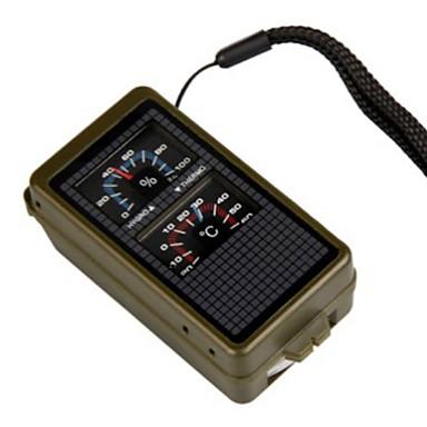 Fire Starter Überlebens-Pfeife Zirkel Thermometer Lupe Camping Draußen Multi-Funktions- Nautisch Erste Hilfe Praktisch Kunststoff Stück