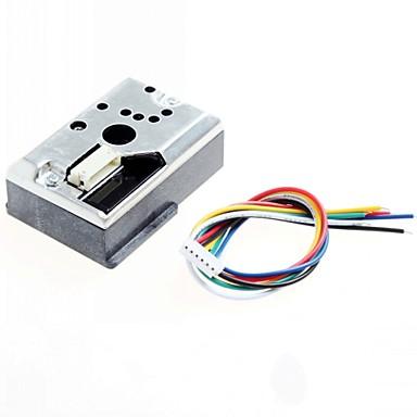 skarp gp2y1010au0f DIY PM2,5 støv sensor gp2y1010f for audino / Raspberry Pi