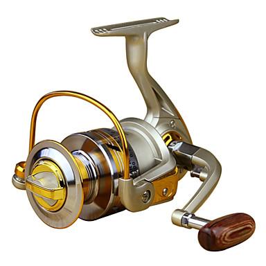 Kołowrotki Kołowrotki spinningowe 5.5:1 Przełożenie+10 Łożyska kulkowe Leworęczna Sea Fishing / Fly Fishing / Casting Bait - EF4000