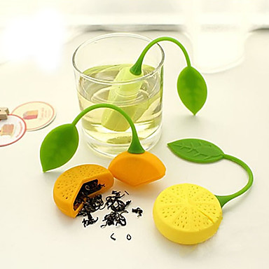 Silicone Manual Lemon 1pc Tea Strainer / Gift / Daily