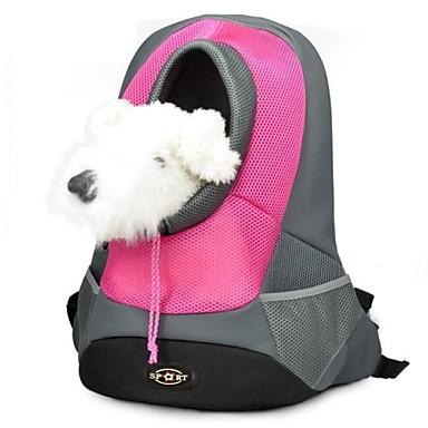 Кошка Собака Переезд и перевозные рюкзаки Животные Корзины Компактность Дышащий Желтый Розовый Красный Зеленый Синий Для домашних животных