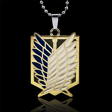 versilbert Anhängerketten  -  Gold Silber Modische Halsketten Für Party Alltag Sport