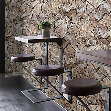 Geometric Tapetti retro Seinäpinnat , PVC/Vinyl materiaali liima tarvitaan tapetti , huoneen Tapetit