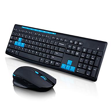 qisan x1000 Wireless 2.4G Gaming-Tastatur und-Maus-Set