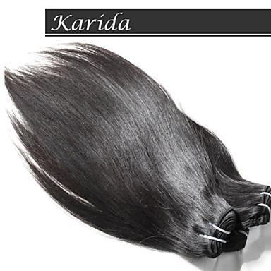 원료 처리되지 않은 처녀 인도 머리, 처녀 인도 스트레이트 머리 10-30inch 4 개