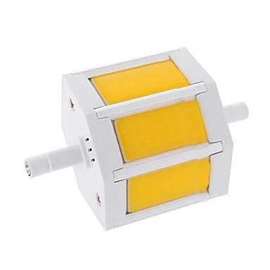 6W 450-500lm R7S LED Mısır Işıklar T 3 LED Boncuklar COB Sıcak Beyaz / Serin Beyaz 85-265V