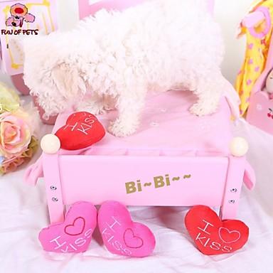 Kutyajátékok Játékok kisállatoknak Rágójátékok Püsh játékok Nyüszít Heart Háziállatok számára