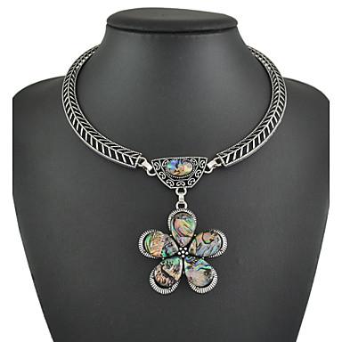 большие смолы подвески ожерелья кожа цепи ожерелья элегантный стиль