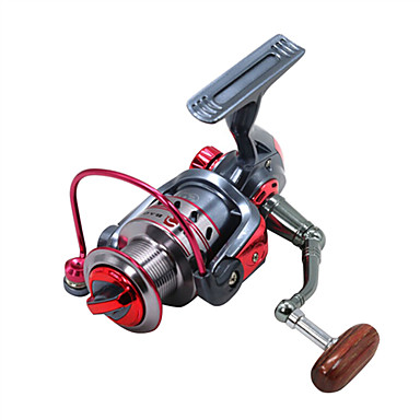 Kołowrotki Kołowrotki spinningowe 5.2:1 Przełożenie+11 Łożyska kulkowe Ręcznie Orientacja wymienny Casting Bait Ice Fishing Spinning