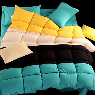 Confortable 1 Couette, Fait à la main Fait à la main Imprimé Multicolore