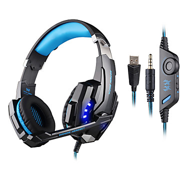 KOTION EACH Πάνω από το αυτί Κεφαλόδεσμος Ενσύρματη Ακουστικά Κεφαλής Πλαστική ύλη Ηλεκτρονικό Παιχνίδι Ακουστικά Με Έλεγχος έντασης ήχου