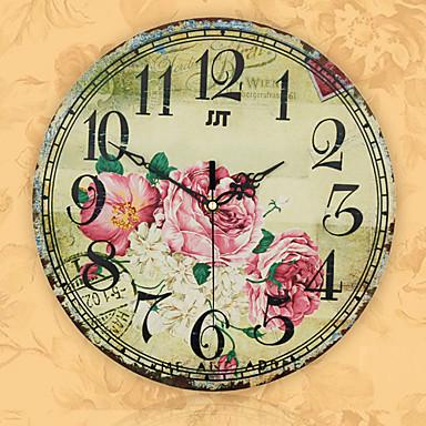 στυλ δημιουργική κομψό πλούτη και τιμούν διακοσμητικά σίγασης ρολόι τοίχου