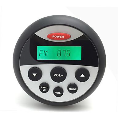 h-808 vandtæt mp3 & FM / AM-radio audio stereo-afspiller med bluetooth funktion for golfvogn