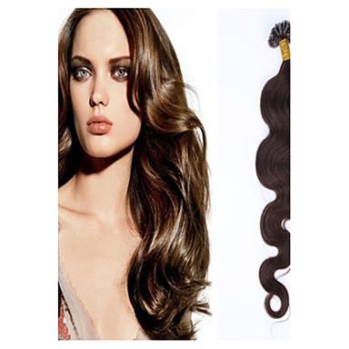 Fusion /U Tip Hiukset Extensions Aitoa hiusta Hiustenpidennys