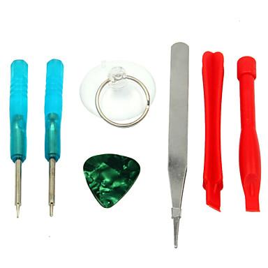 7 pièce de remplacement des outils de l'outil de réparation d'ouverture de kit pour iPhone