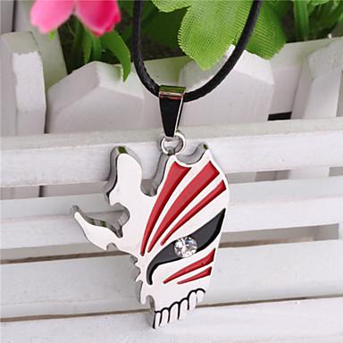 Unisex Fashion Jewelry Retro Punk Animation Cosplay BLEACH Mask Pendant Necklaces