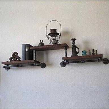 Holz Metal Oval Ohne Verschluss Zuhause Organisation, 1pc Regal Ordnungssystem für Regale