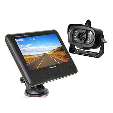 Câmera de Vista Traseira - CMOS 1/3 Polegadas PC1898 - 120° - 380 Linhas TV