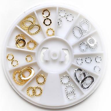 1 Κοσμήματα νυχιών Άλλες διακοσμήσεις Σετ διακόσμησης Αφηρημένο Κλασσικό Lovely Γάμος Καθημερινά Αφηρημένο Κλασσικό Lovely Γάμος Υψηλή