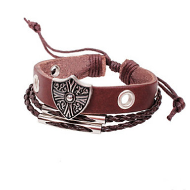 Unisex Rivet Buckle Punk Wind  Bracelet