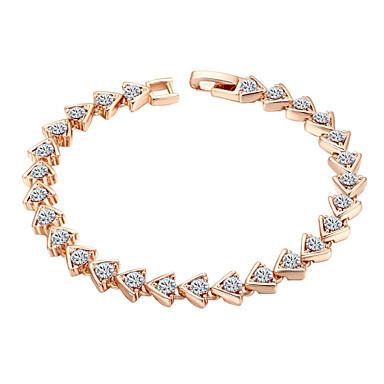 Damen - Kette Rotgold Armbänder Für Hochzeit Party Besondere Anlässe
