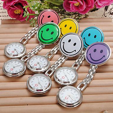 Kadın's Quartz Gündelik Saatler Alaşım Bant Şeker Gümüş