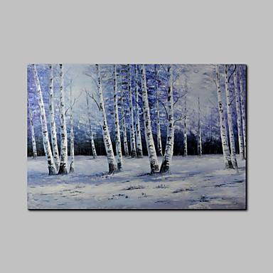 Peint à la main Paysage Format Horizontal, Moderne Toile Peinture à l'huile Hang-peint Décoration d'intérieur Un Panneau