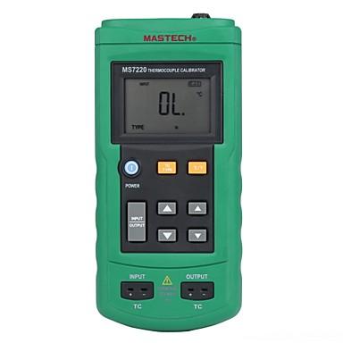voordelige Test-, meet- & inspectieapparatuur-Mastech ms7220- thermokoppel kalibrator - temperatuur kalibrator - analoge uitgang mv thermokoppel signaal bron