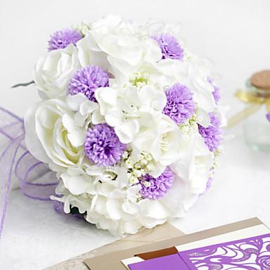 Шелк / Полиэстер / Пластик Розы Искусственные Цветы