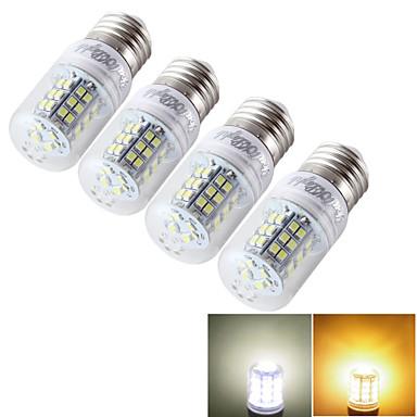 YouOKLight 600 lm E14 E26/E27 LED 콘 조명 T 48 LED가 SMD 2835 장식 따뜻한 화이트 차가운 화이트 9-30 AC 85-265V