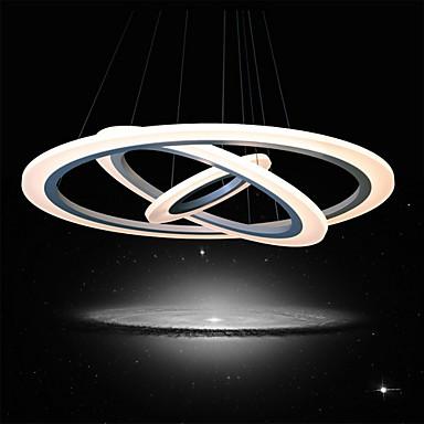 UMEI™ Sirkelformet Anheng Lys Omgivelseslys Malte Finishes Akryl LED 90-240V Varm Hvit / Hvit LED lyskilde inkludert / Integrert LED