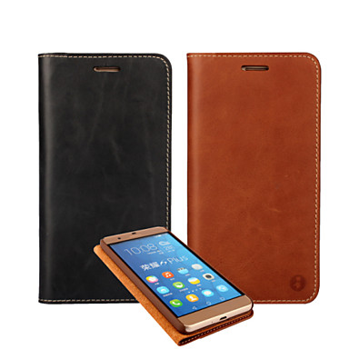 Oil Side Section First Layer of Skin Leather for Huawei Honor 6 plus /p8/p8Lite/(Assorted Colors)