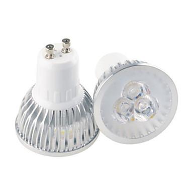 GU10 GU5.3(MR16) E26/E27 Точечное LED освещение MR16 3 Высокомощный LED 350 lm Тёплый белый Холодный белый Декоративная AC 85-265 V 1 шт.