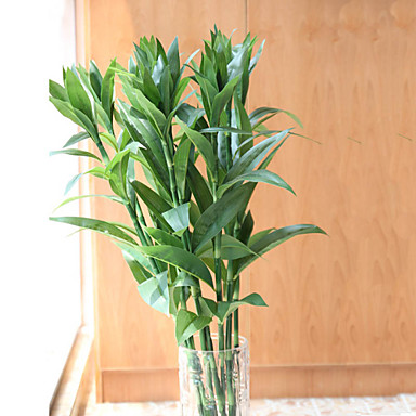 Κλαδί Μετάξι Φυτά Λουλούδι για Τραπέζι Ψεύτικα λουλούδια 89.92 (35.4
