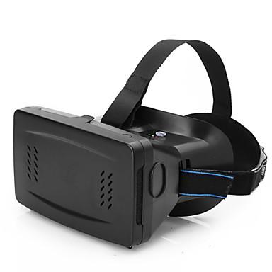 3D Brillen Kunststoff Durchsichtig VR Virtual Reality Brille Halbrand-Brillen