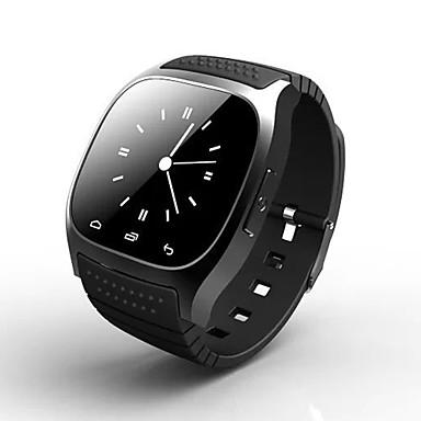 Smartwatch für iOS / Android Intelligente Fall- / Langes Standby / Touchscreen / Anti-lost / Sport AktivitätenTracker / Schlaf-Tracker / Sedentary Erinnerung / Wecker / Barometer / 64MB / 24-50
