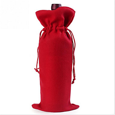 Christmas Essential Santa Claus Christmas Red Wine Bottle Bags Gift Bags