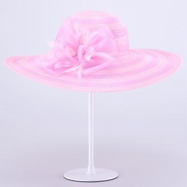 Women's Organza Headpiece-Wedding Special Occasion Hats 1 Piece