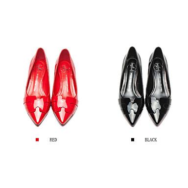 Mocassins Talons Talon Femme Rouge Bout Chaussures Habillé Similicuir Bas 04337683 Pointu Gris Décontracté Noir aq4aAxgwU