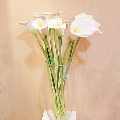 Ág Selyem Műanyag Kála Asztali virág Művirágok