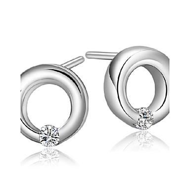 Damen Tropfen-Ohrringe Geburtssteine Sterling Silber Künstliche Perle Silber Schmuck Hochzeit Party Alltag Normal Sport Modeschmuck