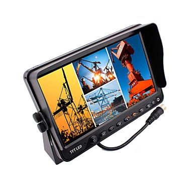 renepai® 7 colos 4 az 1-ben hd monitor + busz HD autós tolatókamera vízálló kamera kábel hossza 16m, 20m 9V ~ 36V